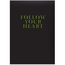 Ежедневник недат. Агенда Follow your heart