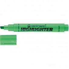 Маркер Fax 8852 1-4,6 мм клиновидный зелёный