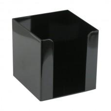 Куб для бумаг 90x90x90 мм, черный