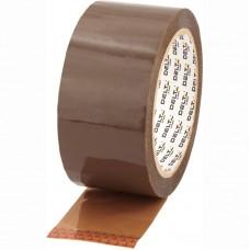 Лента клейкая упаковочная, 48 мм*100 ярд,40 мкм корич