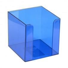 Куб для бумаг 90x90x90 мм, синий