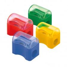 Точилка з контейнером Comfy D9702, ассорти цветов
