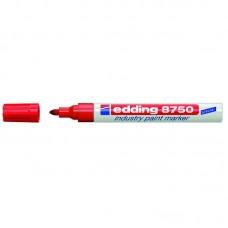 Маркер Industry Paint e-8750 2-4 мм красный