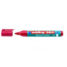 Маркер Flipchart e-380 1,5-3 мм круглый красный