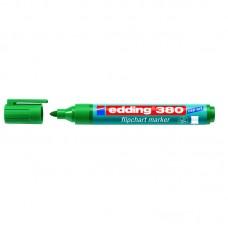 Маркер Flipchart e-380 1,5-3 мм круглый зелёный