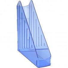Лоток вертикальный, прозрачный синий