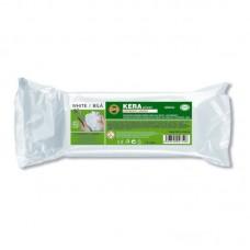 Пластилин Keraplast легкий, белый, 400 г.