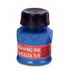Тушь художественная, 20г,  blue light/светлый синий