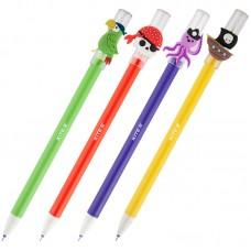 """Ручка гелевая """"пиши-стирай"""" Kite Пірати K20-351, синяя"""