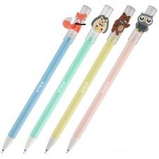 """Ручка гелевая """"пиши-стирай"""" Kite Лісові звірята K20-352, синя"""