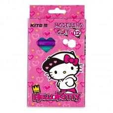 Пластилин восковой Kite Hello Kitty HK21-086 12 цветов, 200 г
