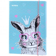 Папка для тетрадей на резинках Kite Cute Bunny K21-210-1, В5