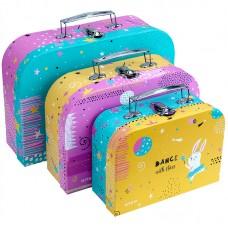 Набор чемоданов Kite Magic Bunny K21-189