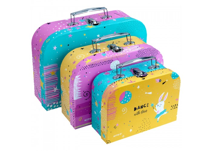 Набір валіз Kite Magic Bunny K21-189
