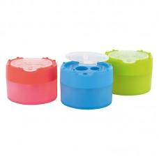 Точилка з конт. Click Clack  Pop, пластик., 2 отделения